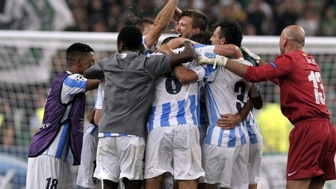 Málaga blunt Panathinaikos to seal famous first
