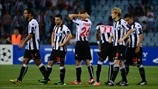 Udinese Calcio dejection