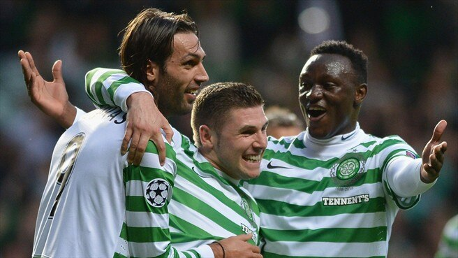 Celtic give Helsingborg no chance
