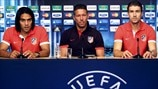 Falcao, Diego Simeone & Gabi (Club Atlético de Madrid)