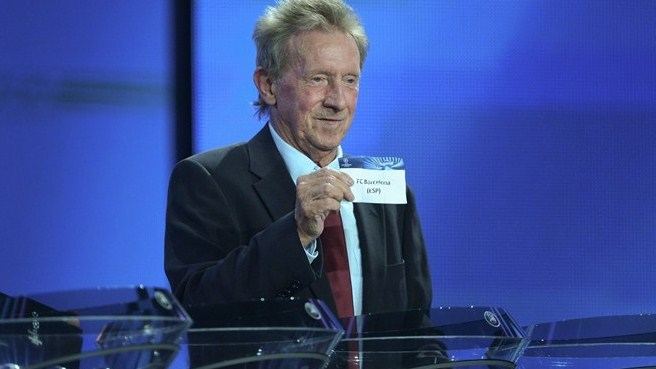 Denis Law (UEFA Champions League group stage draw)