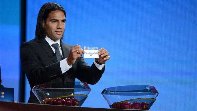 Falcao (UEFA Europa League group stage draw)