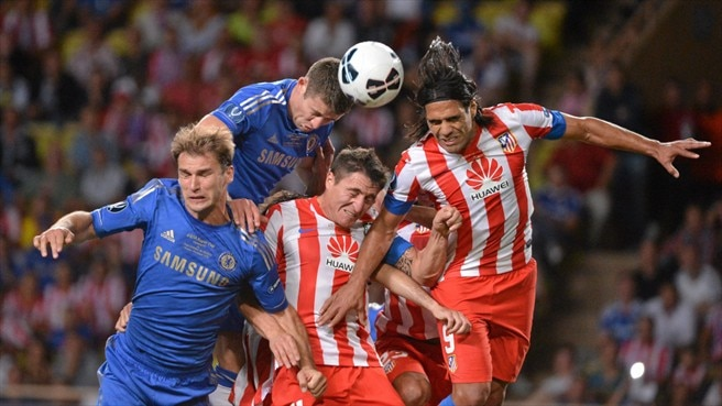 2012 UEFA Super Cup Final - Chelsea FC v Club Atlético de Madrid