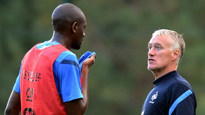 Abou Diaby & Didier Deschamps (France)
