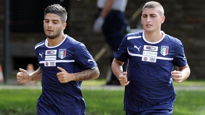 Verratti ready to make lasting impact with Italy