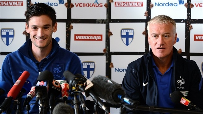 Hugo Lloris & Didier Deschamps (France)