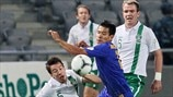 Tanat Nusserbayev (Kazakhstan) & Sean St Ledger (Republic of Ireland)