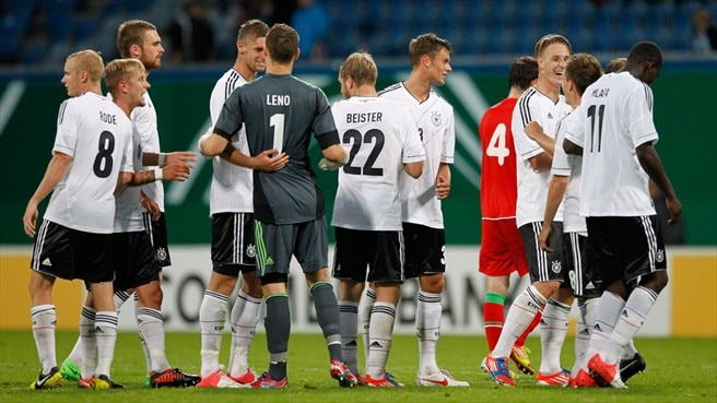 Clinical Germany cruise past Belarus