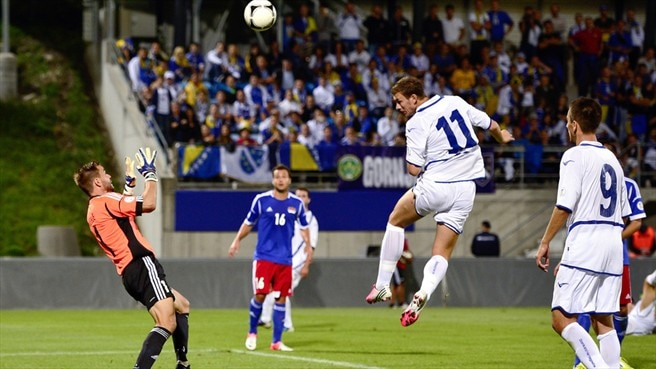 Records fall as Bosnia put eight past Liechtenstein