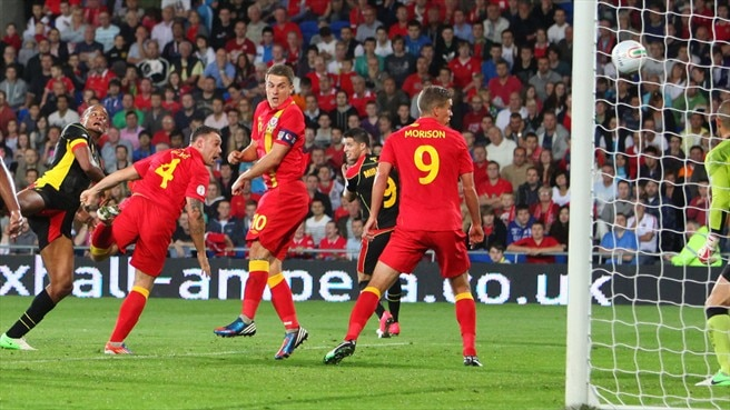 Belgium see off ten-man Wales