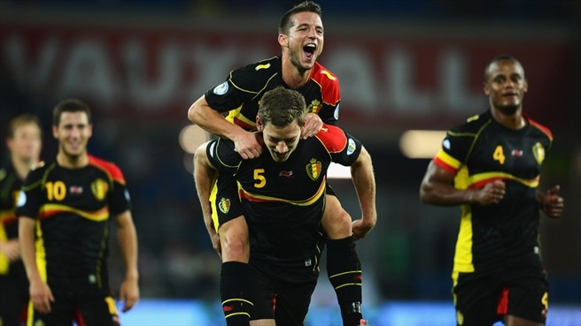 Jan Vertonghen & Dries Mertens (Belgium)