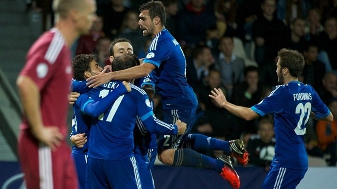 Gekas wins it as Greece suffer scare in Riga