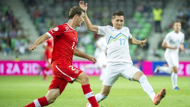 Slovenia slip up at home to Switzerland