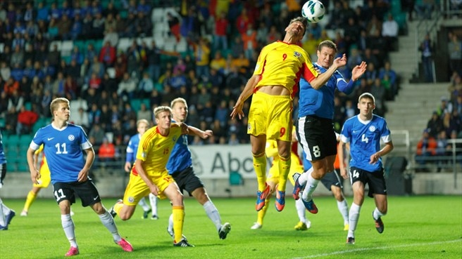 Romania leave Estonia with three points