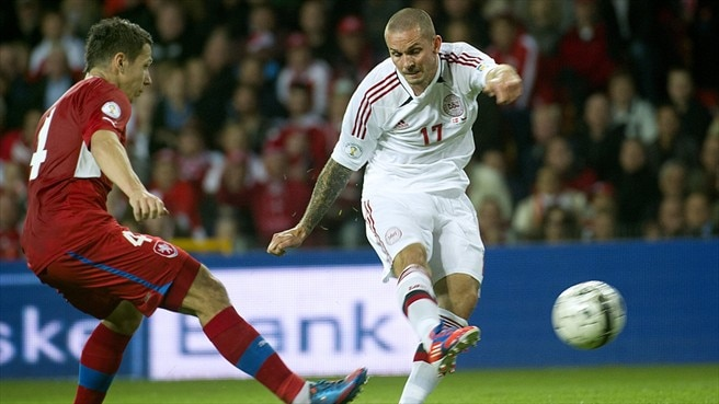 Denmark and Czechs play out goalless draw