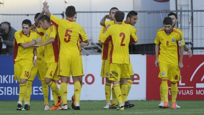 Romania cruise to win in Riga