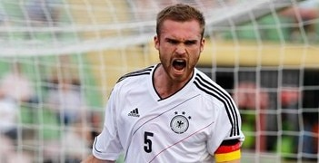 Jan Tilman Kirchhoff was involved in Germany's Under-21 qualifying campaign