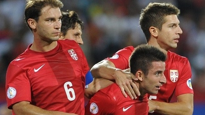 Six-goal Serbia blow away Wales