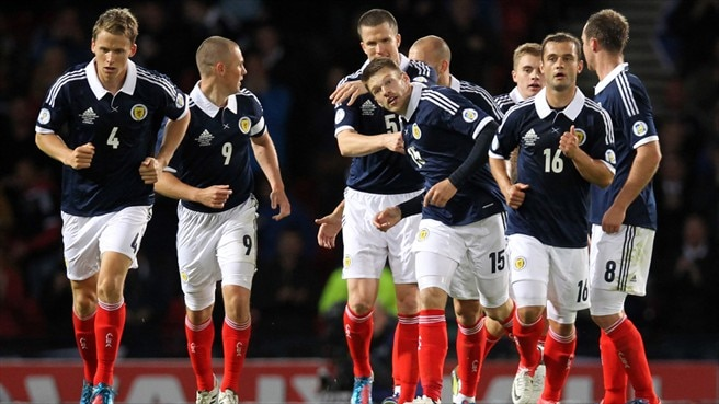 Scotland held at home by FYROM
