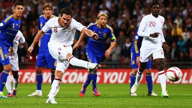 Lampard rescues England against Ukraine
