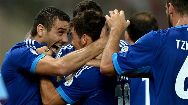 Greece stroll to victory against Lithuania