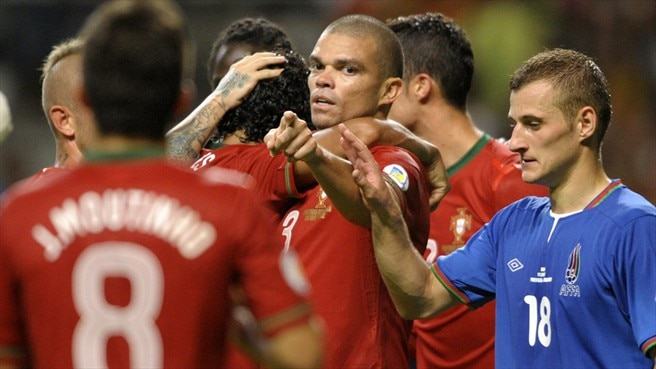 Portugal post Azerbaijan victory