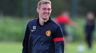 Darren Fletcher has made a welcome return for United