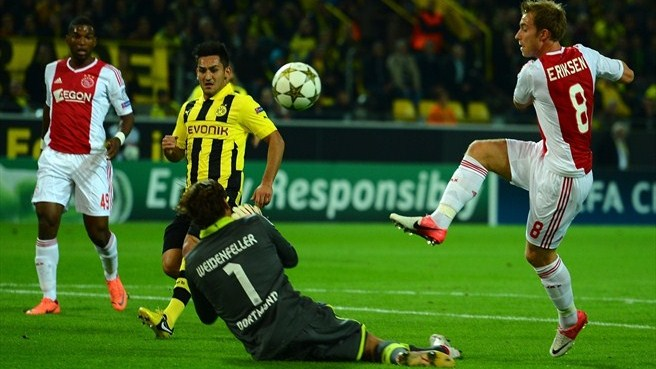 Match facts: Ajax v Dortmund