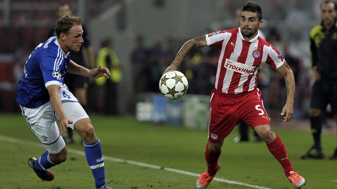 Match facts: Schalke v Olympiacos