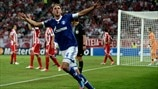 Olympiacos 1-2 Schalke: the story in photos