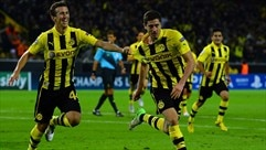 Background: Borussia Dortmund v Real Madrid CF