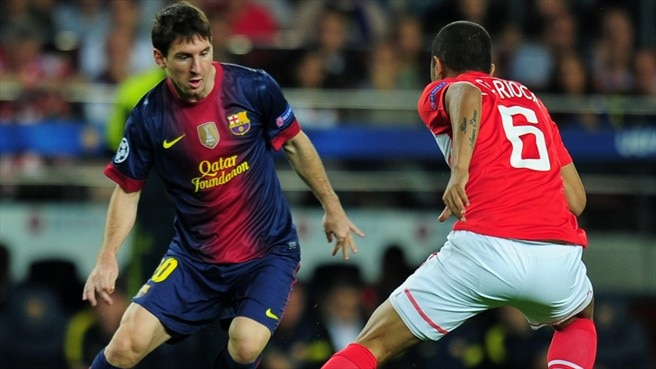 Match facts: Benfica v Barcelona