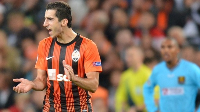 Dortmund win race for Shakhtar's Mkhitaryan