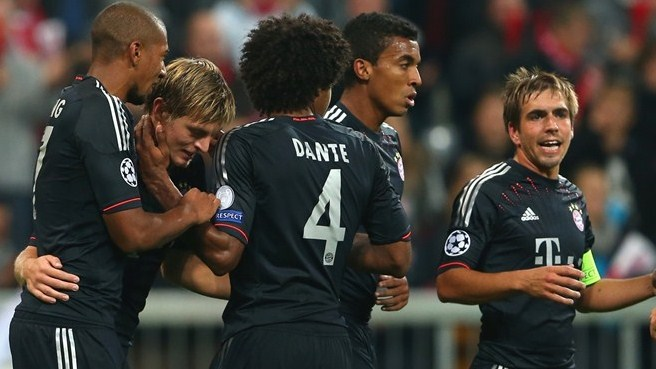 Bayern tread new ground with BATE test