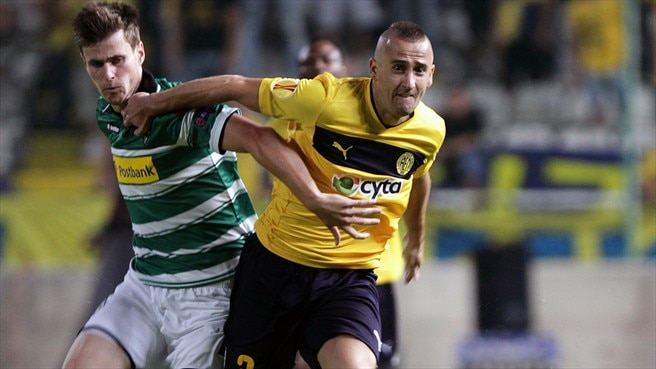 AEL survive late drama to hold Mönchengladbach