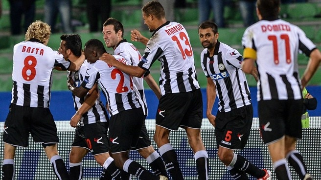 Di Natale rescues Udinese against Anji