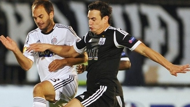 Neftçi hold Partizan on group stage debut