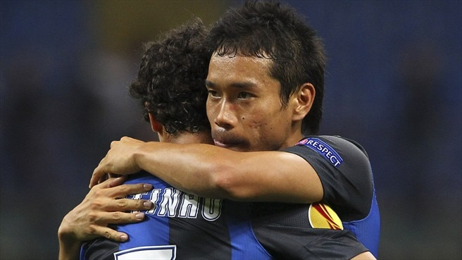 Nagatomo salvages Inter draw against Rubin