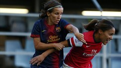 Barcelona's Sonia spurred by continued success
