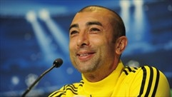 Press conference: Petr Čech and Roberto Di Matteo (Chelsea)