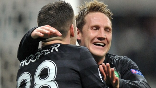 Kris Commons & Gary Hooper (Celtic FC)