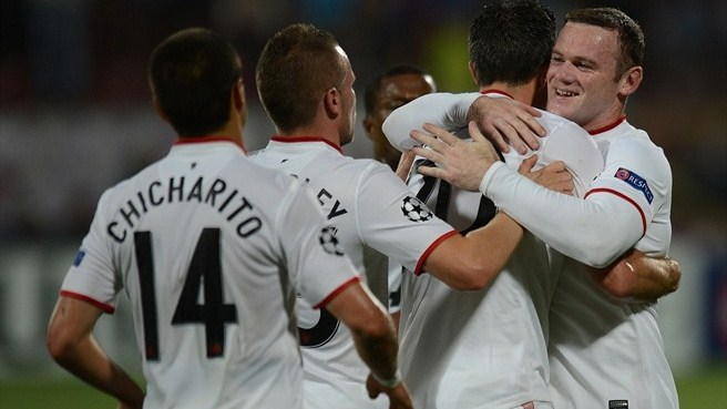 1870108 w2 - Manchester United Beat CFR 1907 Cluj In UCL