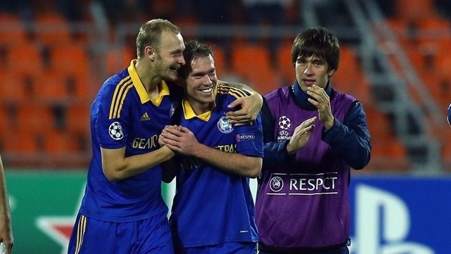 Goncharenko glee at BATE's team triumph