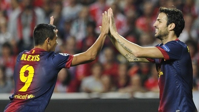 Benfica's Jesus bows to Barcelona brilliance