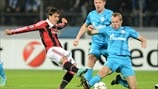 Zenit 2-3 Milan: the story in photos