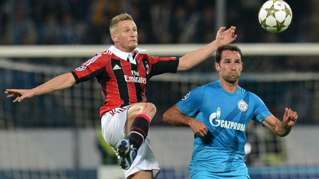 Match facts: Milan v Zenit