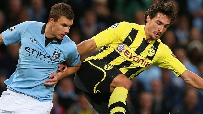 Match facts: Dortmund v Manchester City