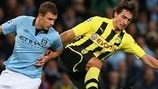 Manchester City 1-1 Dortmund: the story in photos