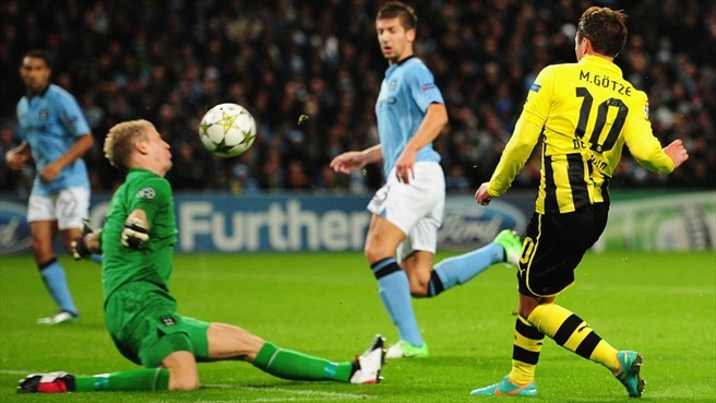 City chasing third place in Dortmund