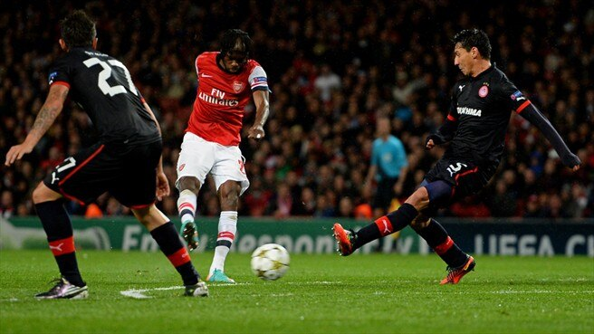 Match facts: Olympiacos v Arsenal